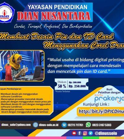 Program Prakerja Dian Nusantara Surakarta di Platform Sekolah.Mu